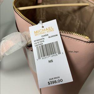 Michael Kors Bags - Michael Kors Ciara Large Top Zip Tote and Wallet